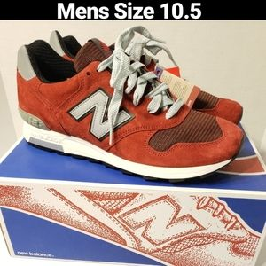 New Balance 1400 Made in USA Size 10.5 Red